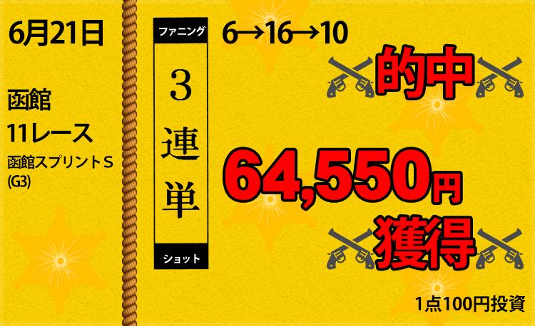 ファニングショット_実績